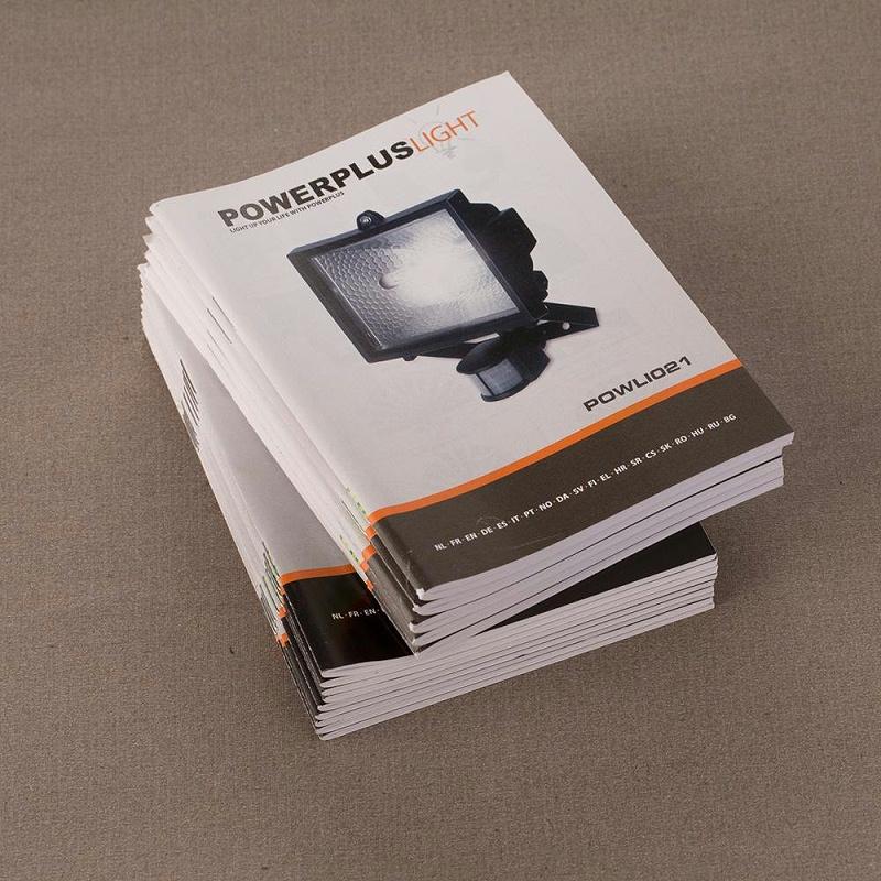 印刷产品说明书