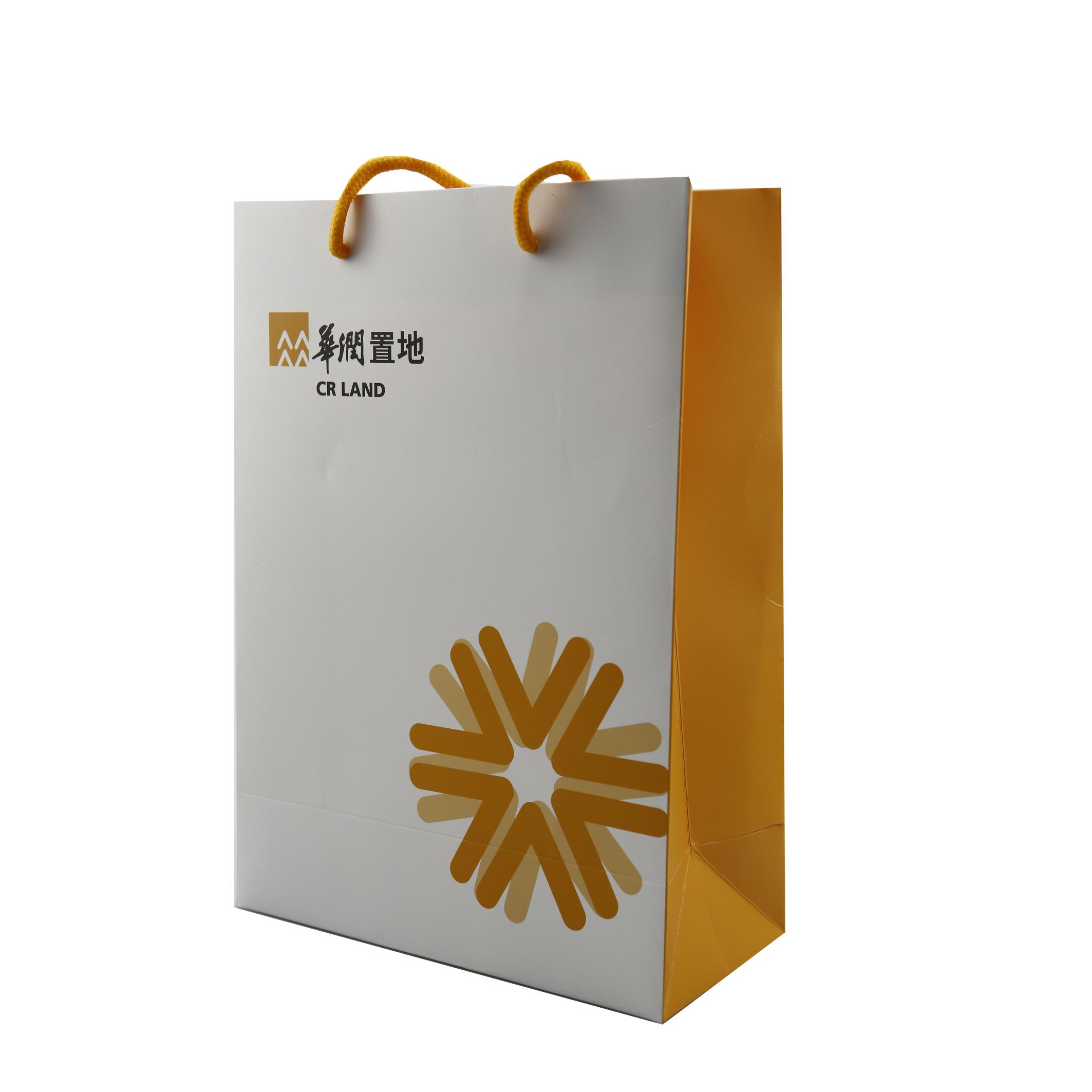 铜版纸手提袋