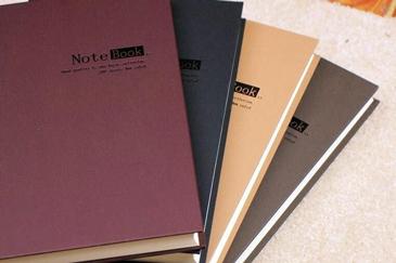 皮质商务笔记本