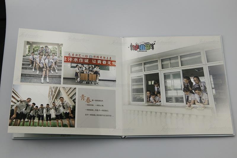 学校画册设计印刷